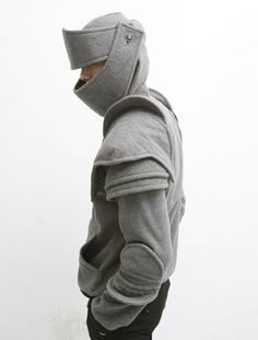 Duncan Armored Knight Hoodie 100 Handmade Made TO Order | eBay