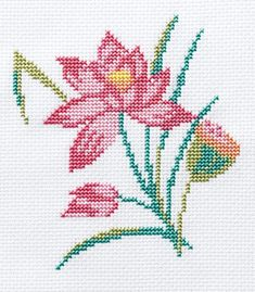 This Pin was discovered by Zül Small Cross Stitch, Cross Stitch Rose, Cross Stitch Flowers, Cross Stitch Designs, Cross Stitching, Cross Stitch Embroidery, Cross Stitch Boards, Cross Stitch Patterns, Needlework