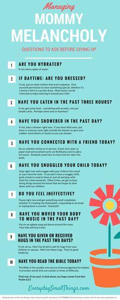 Mommy checklist