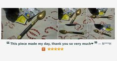 Viccorian French Apothecary Spoon Patented Rosewood and Brass Gilded - French Medicine Spoon https://www.etsy.com/listing/237954280/…
