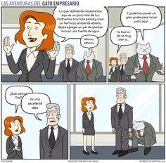 Business Cat - Decisiones
