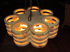 Holzlampe-Hängelampe-skandinavischer Stil von Scandinavicwoodworks