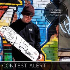 this CONTEST end tmro night ... BZLY x Octopus Skateboards GIVEAWAY . Spring is coming right? We have hope... . To get you ready BZLY Clothing Company and Octopus Skateboards want to hook you up with a brand new Temple skate deck and a BZLY 'Scoundrel' Hoodie...FOR FREE! . Just drop a  or  in the comments below and maybe give @thebzly and @octopusskateboards a follow. . CONTEST ENDS next Sunday night at 11:11pm . Octopus Skateboards is a wicked new grassroots skateboard shop on the corner of…