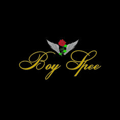 Boy Spee Logo #BoySpee #Boy #Spee #Red #Rose #Wings #Fashion #Mode #Logo