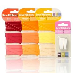 We R Memory Keepers Sew Ribbon Kit - Warm at HSN.com.