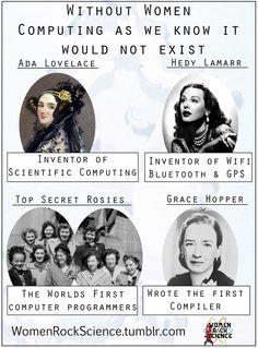 Sin las mujeres no existiera la computadora como la conocemos – Lo malo es que los hombres tomaron el crédito
