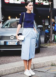 Milan Fashion Week SS15: Collage Vintage Shares Her MFW Street Style Report