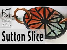 How To Do The Sutton Slice - Polymer Clay Technique - YouTube