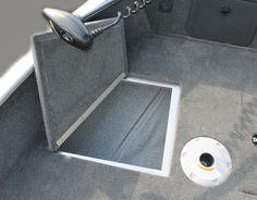 Pro Angler 161 XL bow storage | Smoker Craft fishing boat