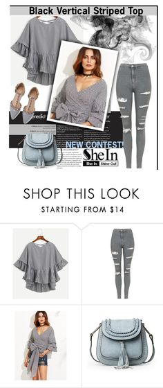 """""""NEW CONTEST ( SheIn )"""" by fahreta1992 ❤ liked on Polyvore featuring Topshop"""