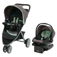 The Graco® Pace™ Click Connect™ Travel System features a three-wheel stroller with a one-hand fold. It includes the top-rated SnugRide®. Car Seat And Stroller, Travel Stroller, Baby Car Seats, Best Baby Travel System, Travel Systems For Baby, Baby Center, Baby Strollers, Connect, Ottawa