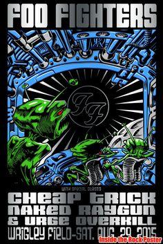 Foo Fighters - Jim Evans - TAZ - 2015 -----