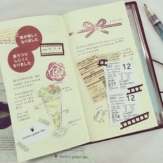 Seaweed Kisses: The Journal Diaries- Wen yea's Traveler's Notebook
