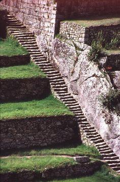 Machu Pichu stairs, that looks tough
