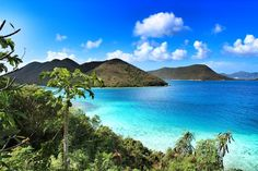 view from Annaberg sugar plantation ruins, St.John USVI