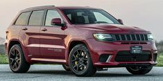 Jeep Trackhawk by Hennessey. A new version of the Jeep Grand Cherokee Trackhawk. The tuning package includes a larger and more powerful supercharger system, upgraded high-flow. Srt Jeep, Jeep Dodge, Rick Hendrick, Grand Cherokee Srt8, Chrysler Jeep, Jeeps, Cool Cars, Transportation, Vehicles