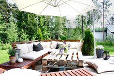 Terrace //garden //patio // ikea äpplarö //