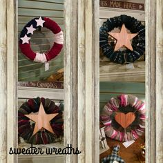 """So excited to welcome """"Craftations"""" as a vendor in our store.  Here are just a few of her talented creations!!!"""