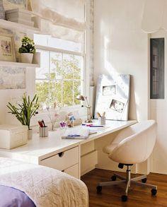 DECORA TU VIDA -DIY-: Un escritorio...!Zona de Ordenadores!!