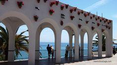 Entrance to Balcon de Europa, Nerja, Spain