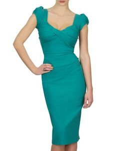 The Nigella Dress draws on the vintage charm and feminine glamour of old Hollywood. This sexy, bombshell of a dress hugs your curves, flattering ample bosoms without revealing too much cleavage, and is guaranteed to draw compliments. Named after celebrity fan, Nigella Lawson, who famously wore this dress to rapturous acclaim, this expertly crafted retro 1950's inspired style is the perfect party dress for big busted women up to H cups who want to show off their curves this season. The…