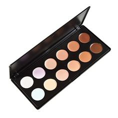 LEFV 12 Color Concealer Camouflage Makeup Palette Professional Contour Face Cream Foundation Contouring Kit Cosmetics -- Find out more about the great product at the image link.