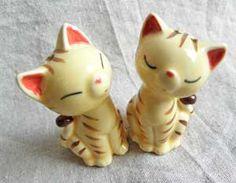 ペア猫のソルト&ペッパー【茶とら猫】の画像
