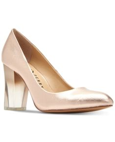 edc99eb25ad Katy Perry The A.w. Ombre-Lucite Pumps - Gold 6.5M Gold Pumps