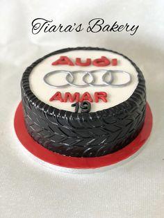 Fondant Cake Tutorial, Fondant Bow, Fondant Cakes, Fondant Flowers, Fondant Figures, Car Cakes For Boys, Birthday Cakes For Men, Boy Cakes, Car Birthday