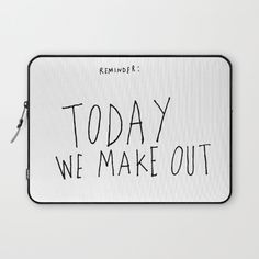 Love Laptop Sleeve by Quotes | Society6