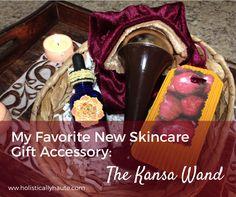 My Favorite New Skincare Gift Accessory: the Kansa Wand | Holistically Haute