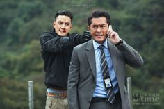 """Directed by Alan Mak and Felix Chong, the crime thriller film """"Overheard 2""""  released a batch of newest still photos featuring Louis Koo and Daniel Wu."""