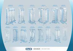 P&G 2D-3D display design proposals by Alp Germaner at Coroflot.com