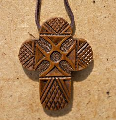 Carved Wooden Cross With Rounded Rays >>> Discover this special product, click the image : Wall Crosses