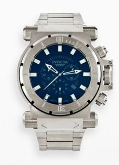 Invicta Coalition Forces Stainless Steel Chronograph Watch