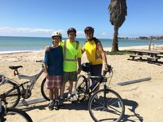 Three Generations of Beach Bikers