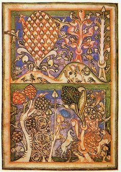 De Carmina Burana is een middeleeuws manuscript dat gevonden werd in de abdij van Benediktbeuern in Beieren. De collectie bestaat uit meer dan 200 liederen over zeer uiteenlopende onderwerpen, zoals de ontluikende natuur, kritiek op de wereldlijke en kerkelijke overheid en verheerlijking van het vrije leven vol drank, gokspelen, seks en liefde. De liederen zijn in de 12e en 13e eeuw geschreven door verschillende, onbekend gebleven dichters. Fantasiebos