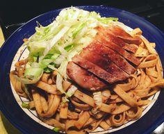 Taiwanese pork noodles