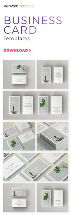 Unlimited Downloads of 2018's Best Business Card Templates #BestBusinessCards