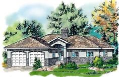 Plan No.134139 House Plans by WestHomePlanners.com