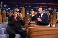 Music Photos of the Week Jimmy Fallon Tonight Show, Glen Coco, Stevie Wonder, Music Photo, Photos Of The Week, Stevia, Love Of My Life, Interview, September 19
