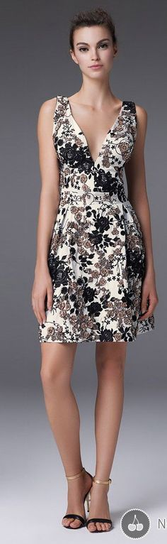 @roressclothes clothing ideas #women fashion floral dress