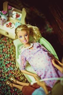 Anche Barbie sceglie il parto a domicilio!