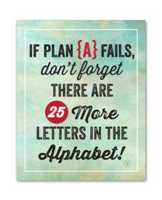 What Happens When Plan A Fails? You can plan and dream about what your life… The Words, Unplanned Pregnancy Quotes, Inspiration For The Day, Divorce And Kids, Step Parenting, Spoken Word, Typography Prints, Make You Smile, Quote Of The Day