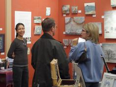 March 2013 started well with a Featured Artist event at Art After Hours, Wake Forest Art & Frame.