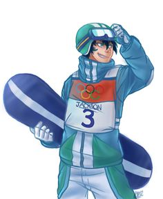Winter Olympic demigods--Percy Jackson-- Snowboarding<< don't know if this should go on my geek board or Olympic board