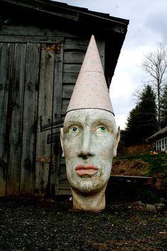 Lisa Clague   every dwelling needs it  garden sculpture no?