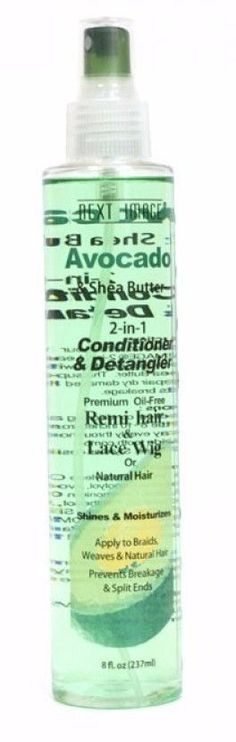 Next Image Avocado & Shea Butter 2-in-1 Conditioner & Detangler (8 Oz)