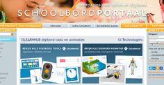 Op ' Schoolbordportaal - Startpagina voor tablet en digibord ' vond ik een pagina  met gratis te gebruiken 'digibord'-tools en 'digibord'...