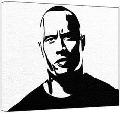 black and white stencil art - Google zoeken